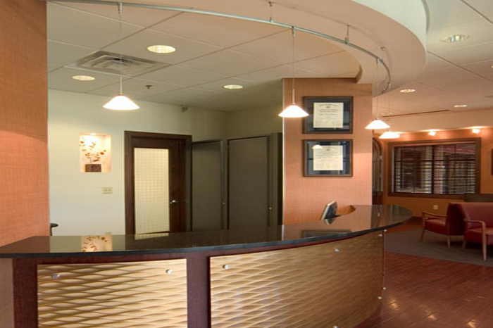 Commercial interior design interior design associates for Medical office interior design